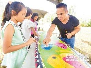 藝術家駐村 閒置校園「活」了起來