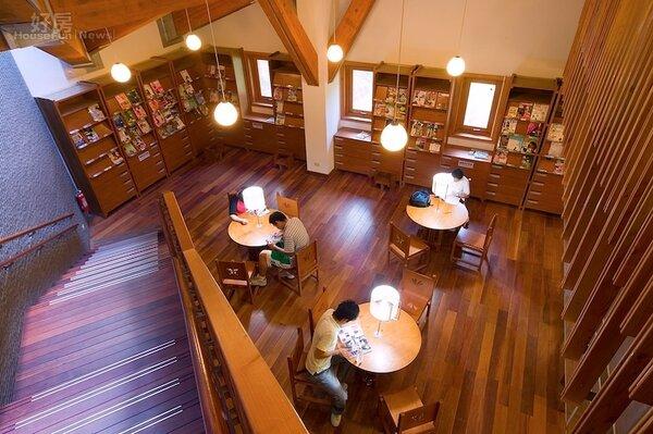北投圖書館。(台北市立圖書館提供)