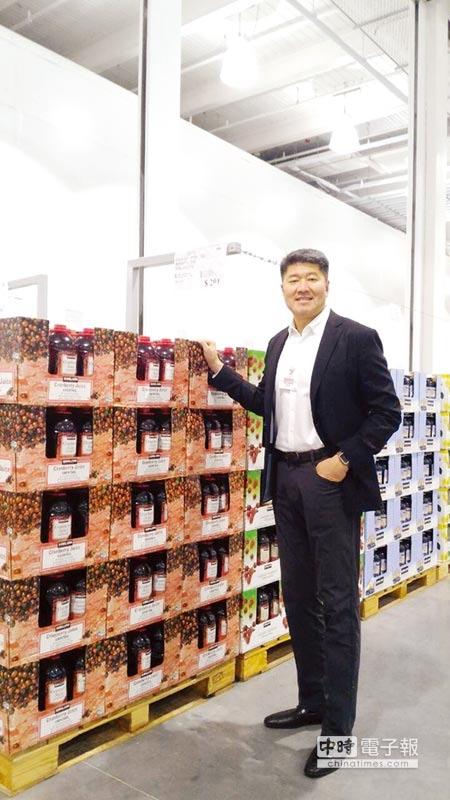 甫升任COSTCO亞洲區資深副總裁張嗣漢表示,今年將開出中壢店、關渡店,明年則有新莊店。圖/林祝菁