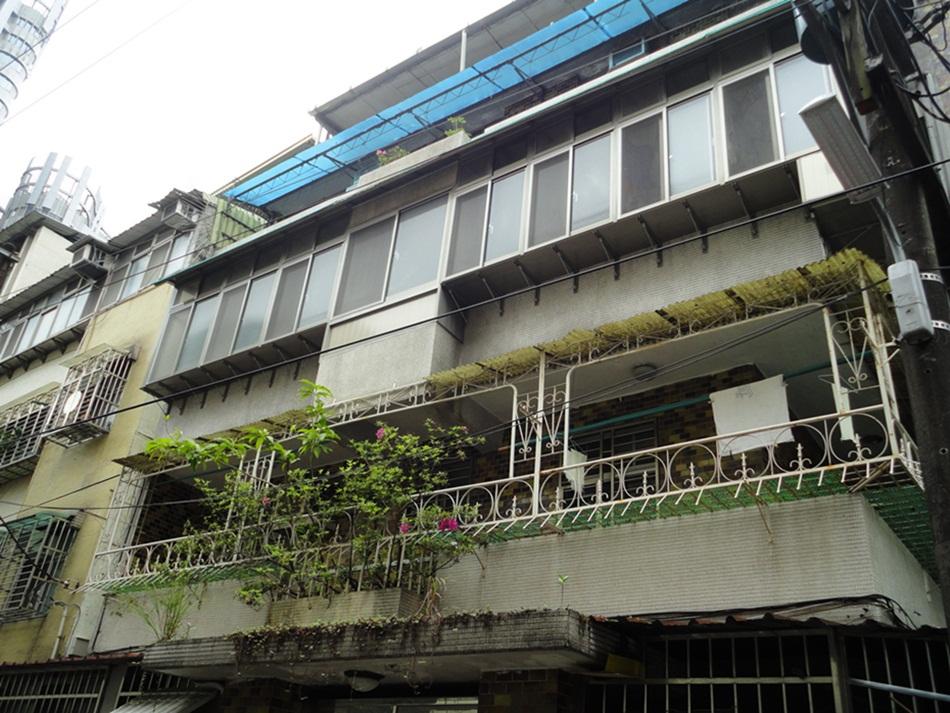 老公寓 中古屋 公寓 陽台