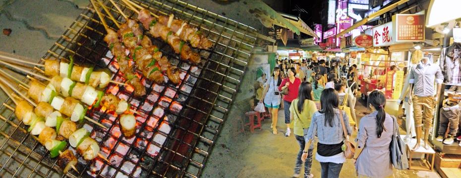 串燒烤肉 夜市 人潮(大刊頭主視覺)