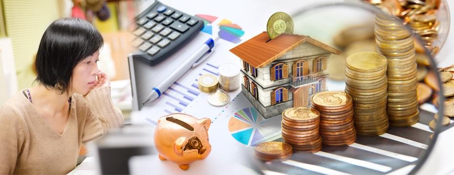 房貸 煩惱 薪水 存錢撲滿 第一桶金 錢 房子(大刊頭主視覺)