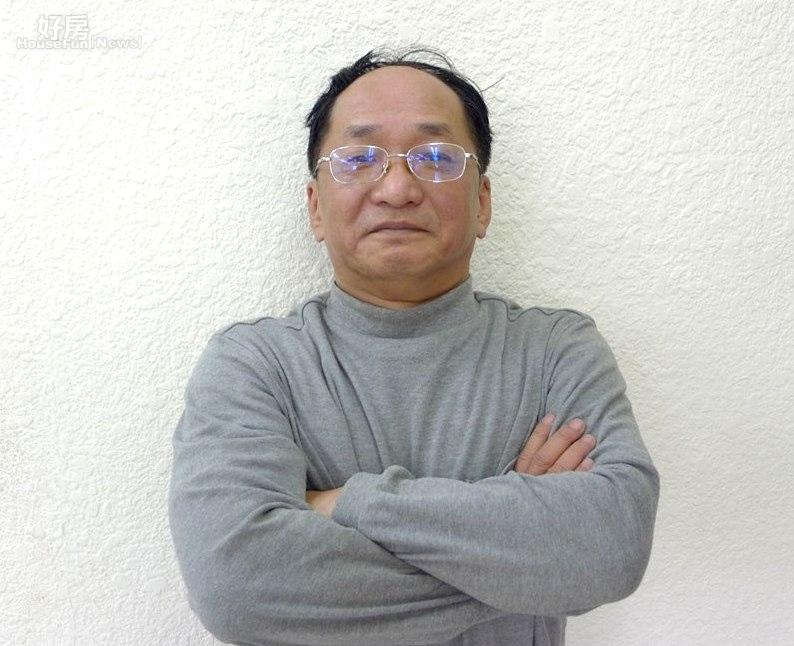 台灣房市重量級投資客「三黃一劉」中的黃家進(帥過頭)。(好房News記者馮牧群拍攝)