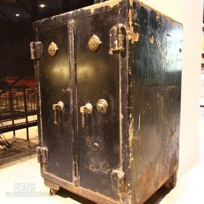 9.日治時代三井合名會社留下來的保險箱是出自大日本新高商行。
