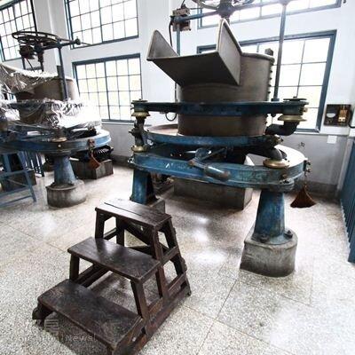 10.由英國人威廉傑克遜發明的茶葉揉捻機,大溪老茶廠共有六台,是製作紅茶的大功臣。