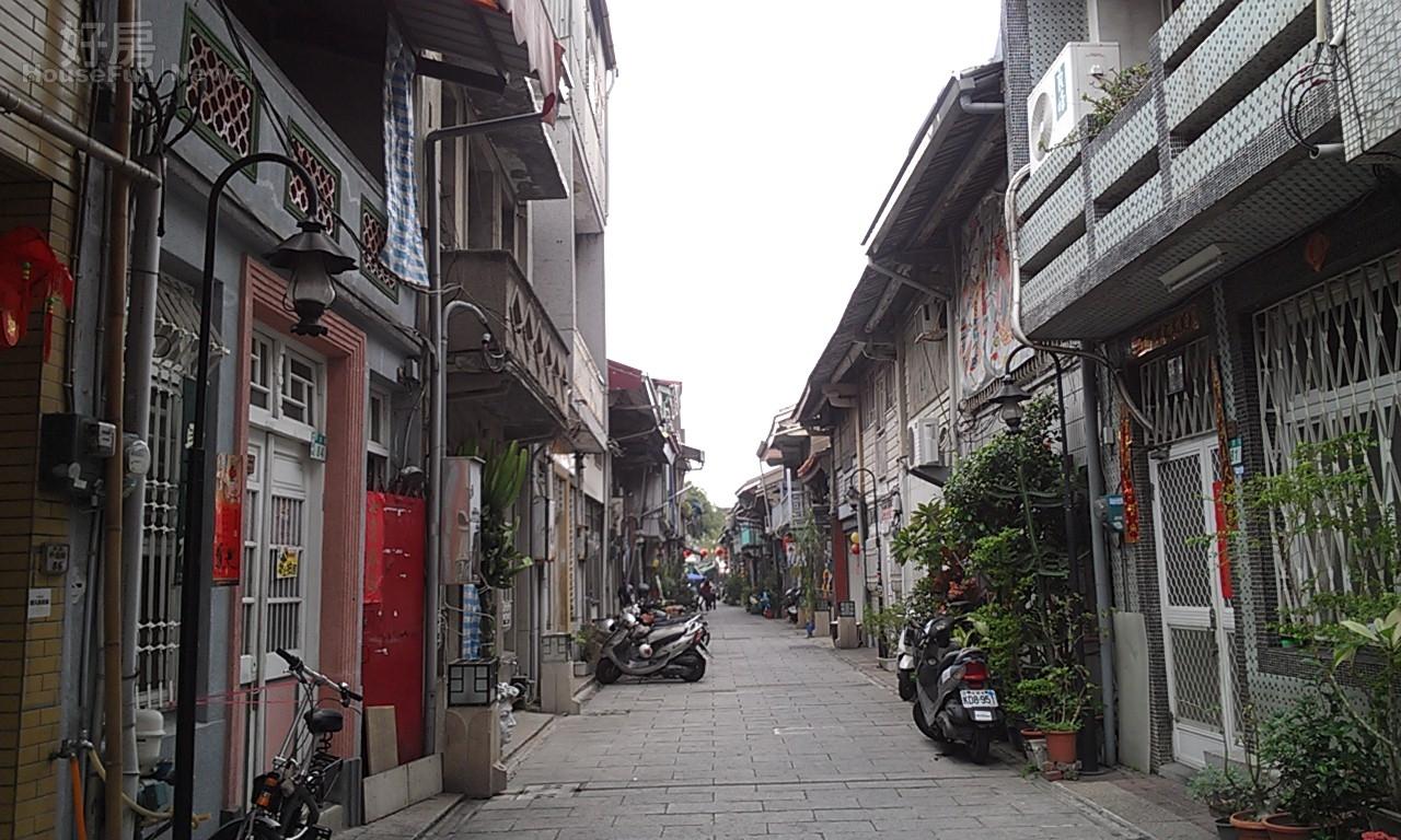 台南海安商圈 神農街 老屋 府城(好房News記者林美欣攝影)