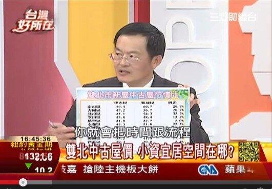 葉國華上台灣好所在建議雙北市買房可以從那些區域下手(翻攝Youtube)