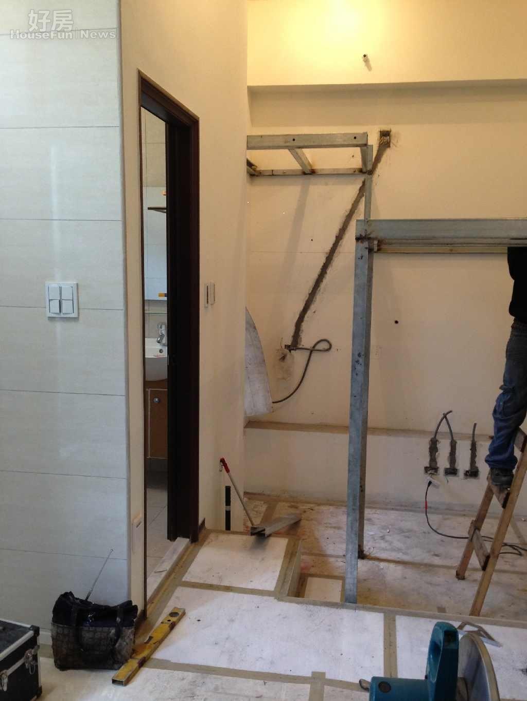 居家裝修常遇到改管、移管問題,找對師傅是重要關鍵。(好房記者賴宛玲/拍攝)