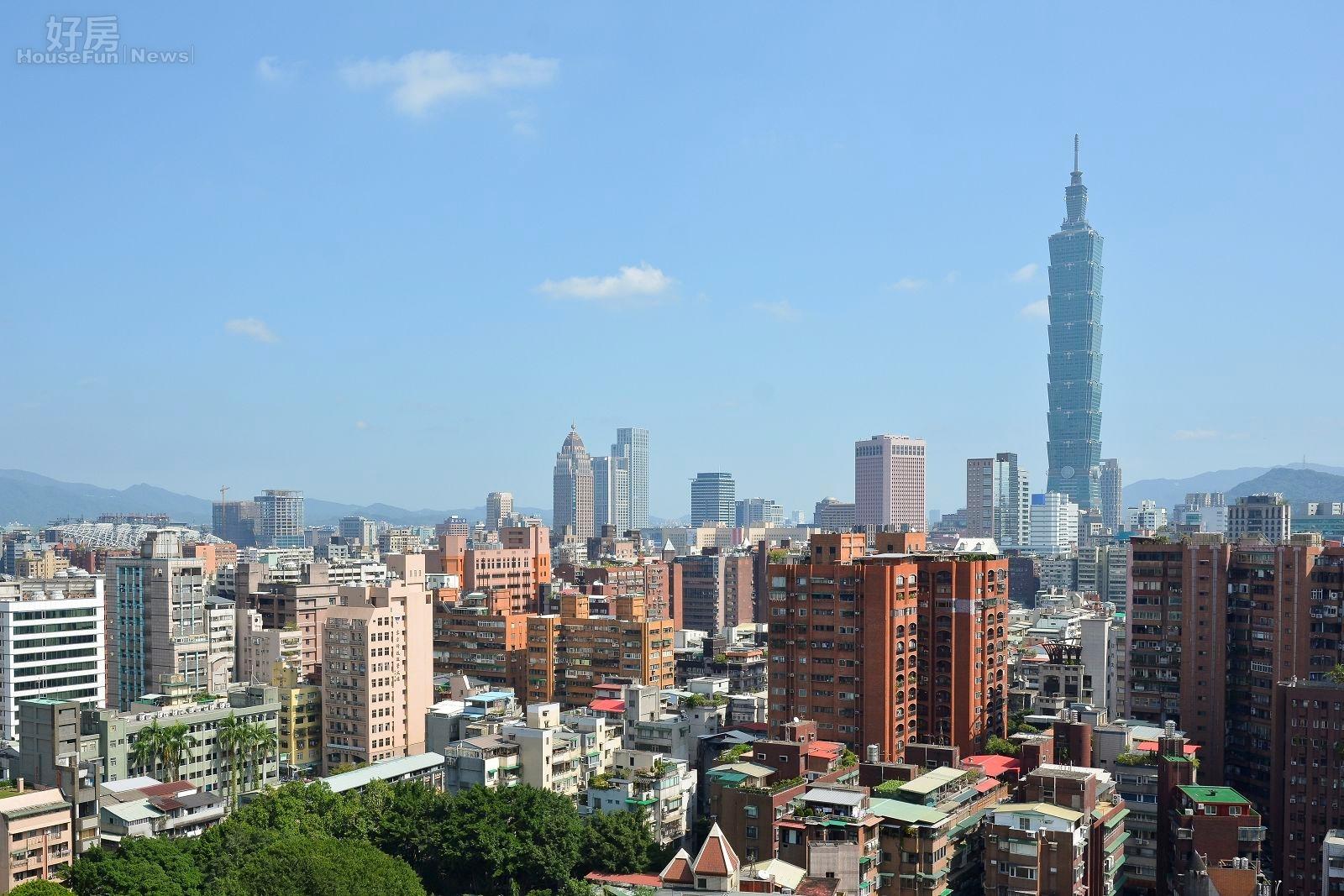 台北市房市情境照。(好房網News記者 陳韋帆/攝影)