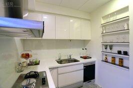 廚房一景。
