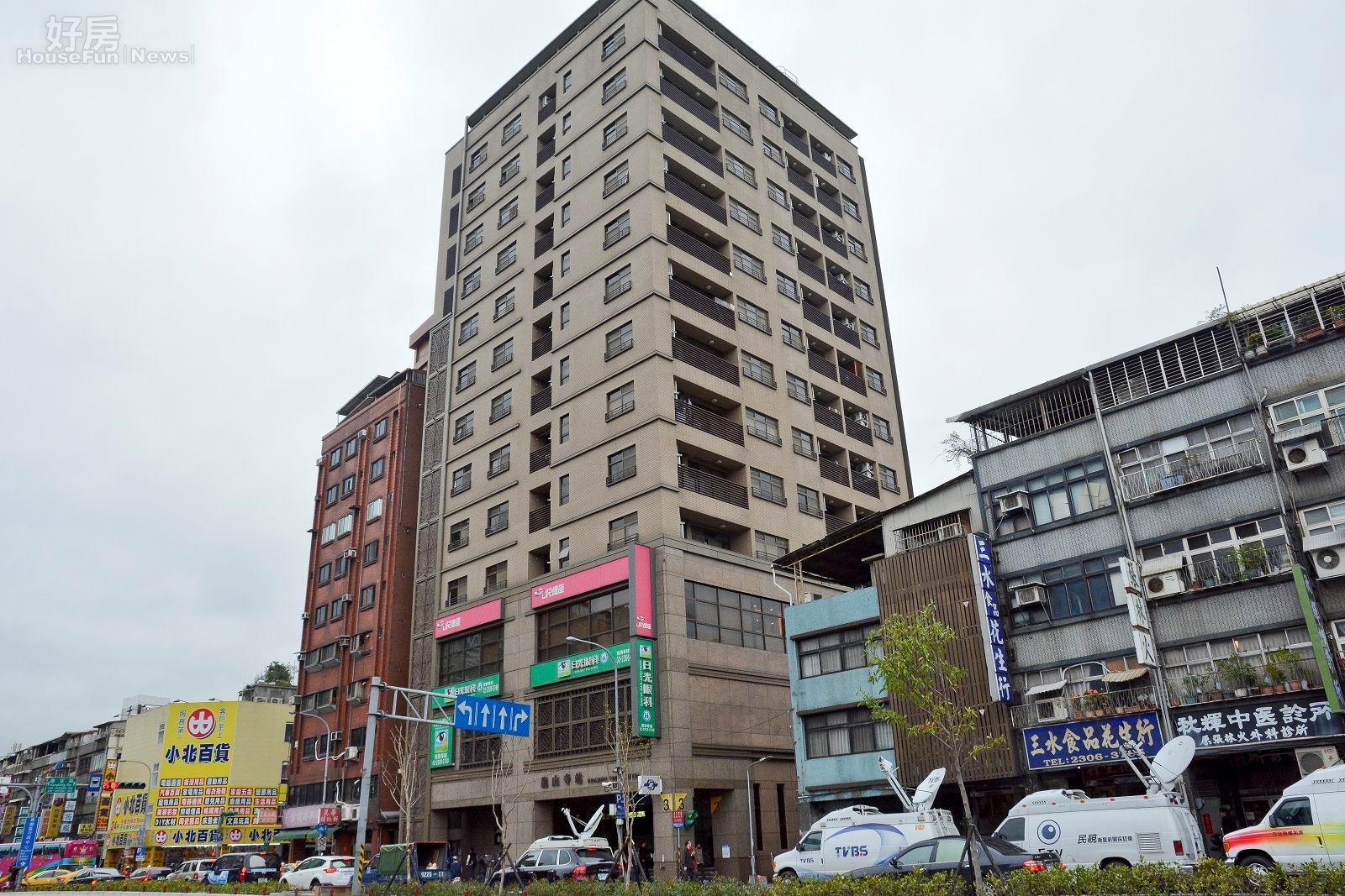龍山寺的捷運共構宅將成為公共住宅。(好房網News記者 陳韋帆/攝影)