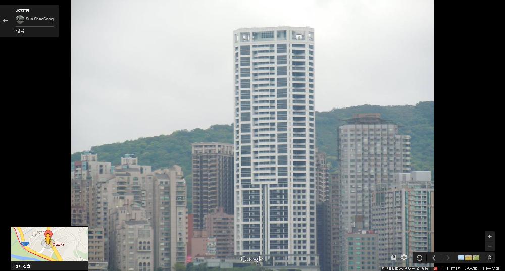 淡水豪宅「水立方」身價不凡,總價直逼北市頂級豪宅。(翻攝自Google Map)