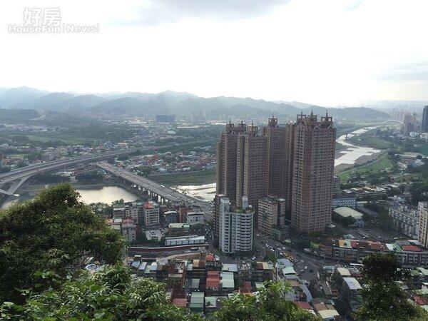新北市俯瞰空景 (好房網News記者林美欣攝影)