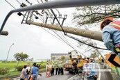 宜縣逾10萬戶停電 台電拚復電