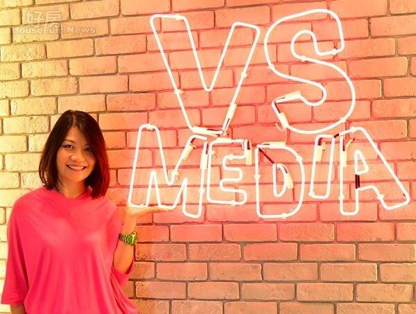 9. VS MEDIA自媒體網絡公司創辦人黃雅芬Ivy,希望以colorful的辦公室空間,營造出能隨時激發創意的氛圍。