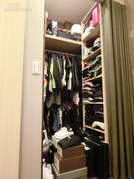 5.空間雖小但設備ㄧ應俱全,甚至還規劃了更衣間。