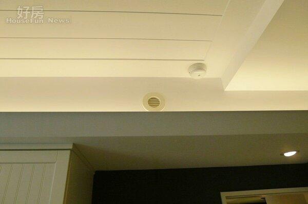 5.加裝全熱交換機,室內空氣保持新鮮。