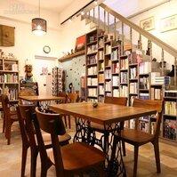 咖啡伴書香,霧峰的咖啡書房~