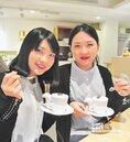 姊妹花點石成金 博物館飄咖啡香