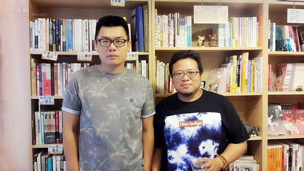 8.許赫和設計師陳孟少一起經營角立出版社,心波力也請孟少設計,搭檔頗有默契。