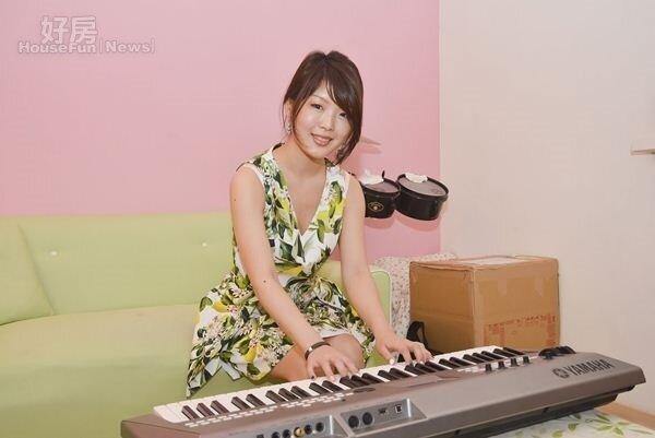 8.鋼琴手小山郁美今年將與男友結婚,婚後將住在新店。
