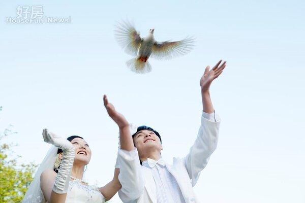 婚前一同購屋,若無法共同登記可簽訂借款契約或借名登記契約。(好房網資料中心)