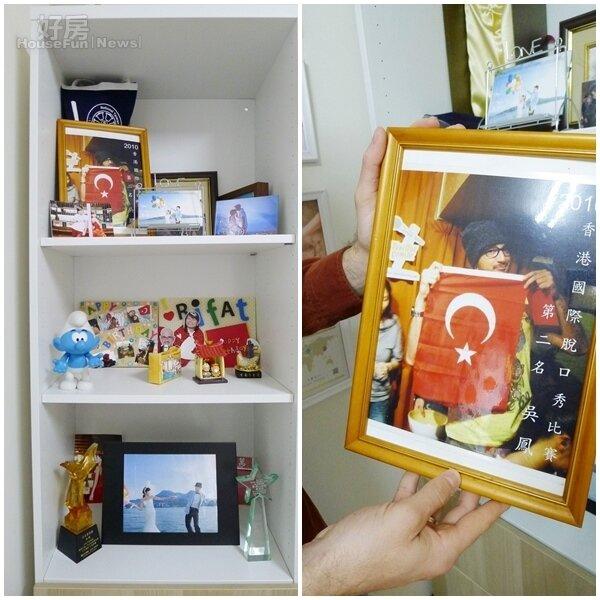 6.新婚後的吳鳳也大手筆買櫃子放一些紀念品。 7.參加香港國際脫口秀比賽榮獲第二名。