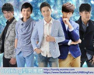 10.陳奎也是UNIKing 型男團體的成員,與守宏、光傑以及皓天的人氣都很旺,四人在廣告、代言、主持、活動、戲劇、節目都有發展,是全方位的男子團體。