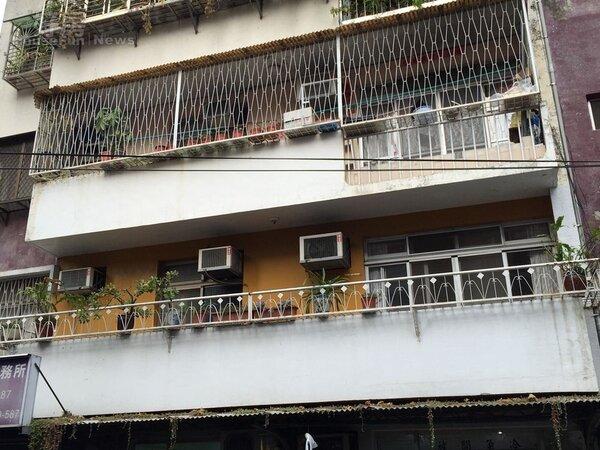 新店中央路巷內老公寓(好房網NEWS記者林美欣攝影)