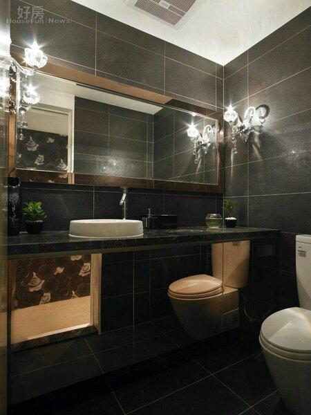 6.羅杰要求顧客至上,連洗手間都要五星級。
