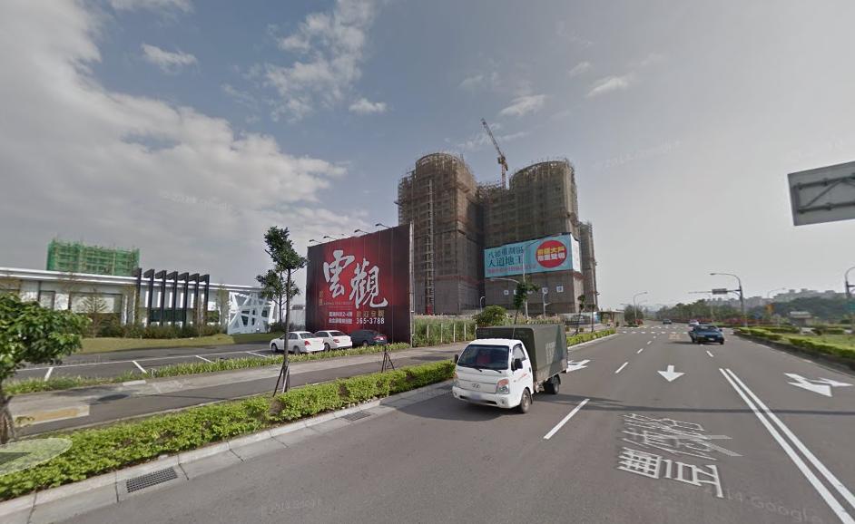 新竹的「昌禾世界島」、八德「貝森朵芙」都出現低於實價登錄價格的新成屋物件。(翻攝自Google Map)