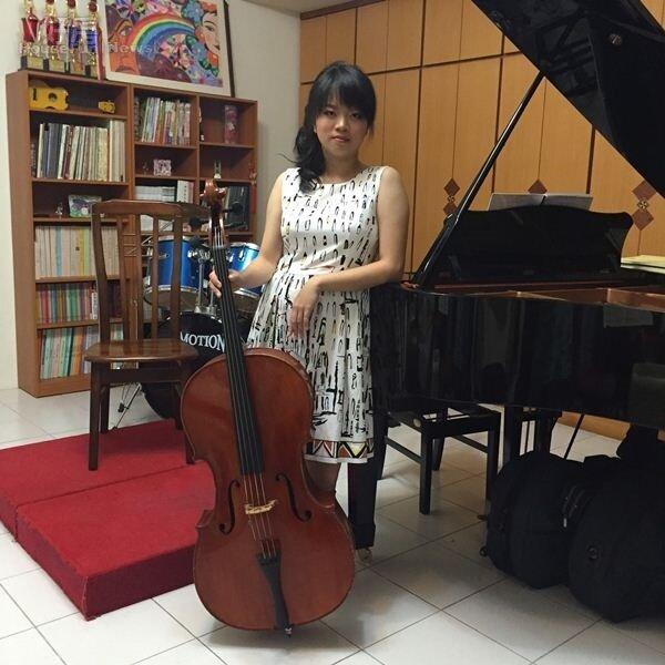 1.大提琴手王姿文,從小就與音樂結下了不解「琴」緣。