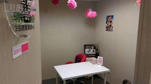 3.安格斯把工作室隔成六間小房間,請不同的專業老師進駐,這間是安格斯母親的工作室,紫微斗數易經大師「李善存」,門上的「善」字格外有特色。