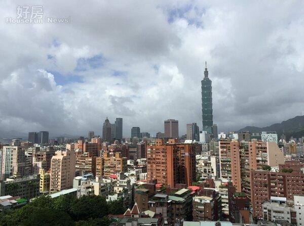 台北101 (好房網NEWS記者林美欣攝影)