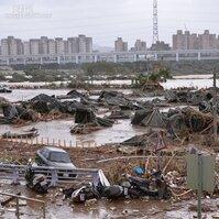 蘇迪勒颱風強勢摧台 滿目瘡痍