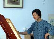 李淑玲因震災而學畫 埔里畫室怡然自得