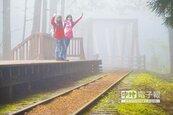 舊鐵道改建 沿水山線訪神木