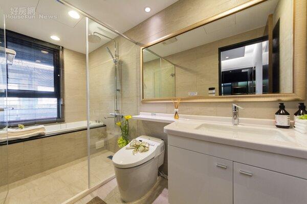 景上水浴室(好房網News記者張聖奕攝影)