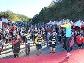玉山高地路跑活動 吸引五千觀光人潮