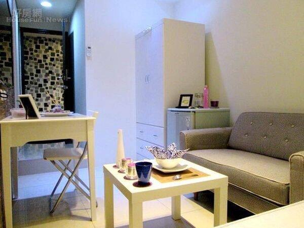8.全新家具的套房更容易出租。