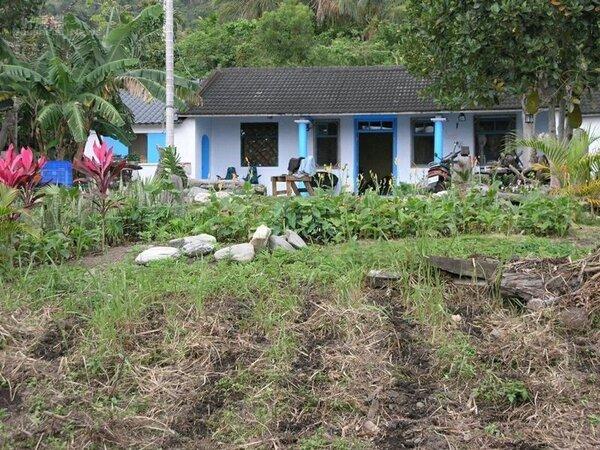 2.第二棟農舍雖然位居荒野,但江冠明卻很喜歡這段寧靜的山居歲月。