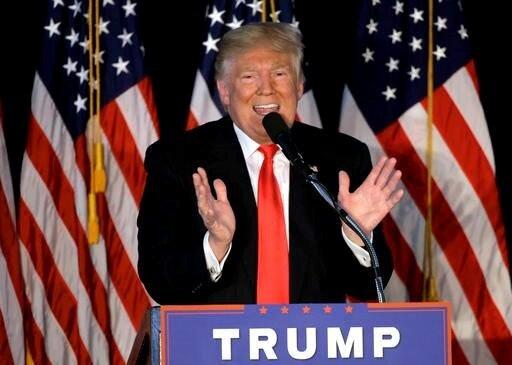 EIU指出,川普若是當選美國總統,恐會成為世上十大高風險之一。(翻攝自Donald Trump Facebook)