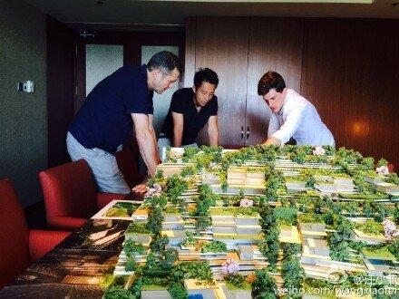汪小菲將命名新酒店為「S Hotel」。(翻攝自汪小菲微博)
