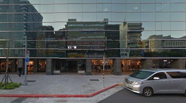 台玻集團將商辦大樓易手給華固。(翻攝自google map)