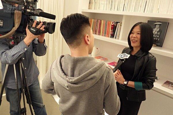 6.展示著陳麗卿愛書收藏與著作的閱覽室,是媒體採訪陳麗卿時最偏愛的取景地點。