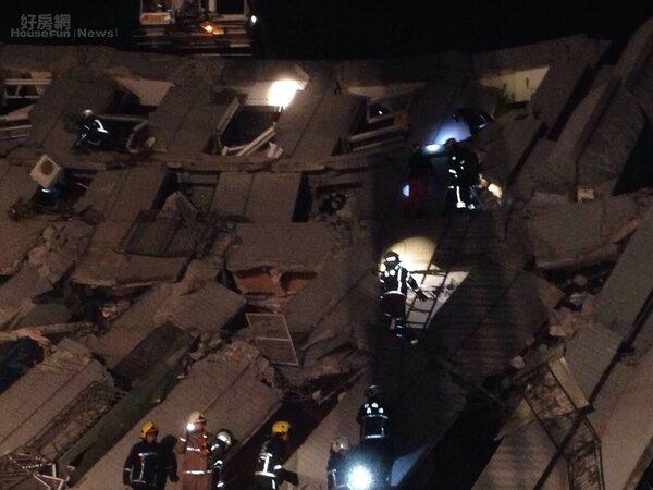 最新/高雄大地震 台南傳多處大樓倒塌