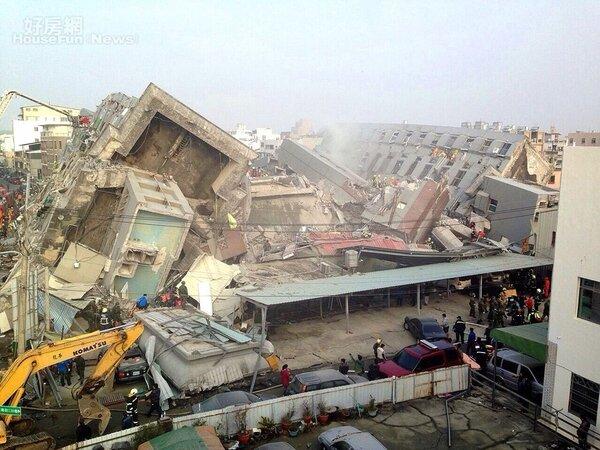 地震來襲,高樓較危險、低樓較安全嗎?(網友提供)