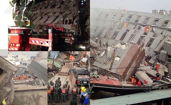 強震造成台南維冠金龍大樓倒塌,造成上百人死傷,也震出「保險」問題。(好房網News資料中心)