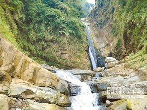 竹山第一美瀑 瑞龍瀑布將設觀瀑平台