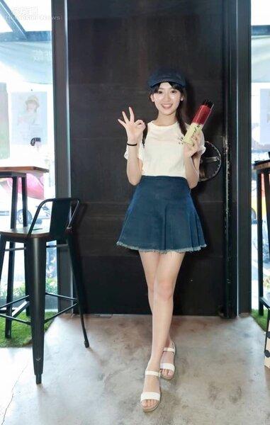 7.儘管台北工作忙碌,但優格姐姐日前仍抽空南下擔任一日店長。